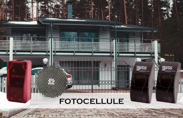 fotocellule cancello automatico