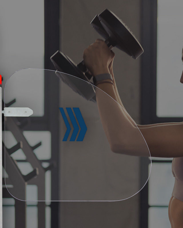 turnstile in the gym