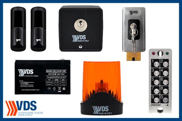 Automazione per cancelli scorrevoli: da VDS trovi anche gli accessori