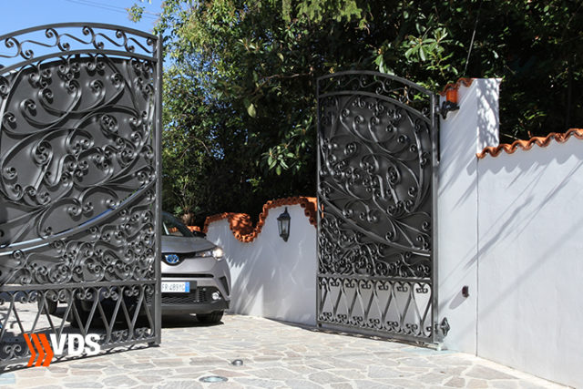 come motorizzare un cancello